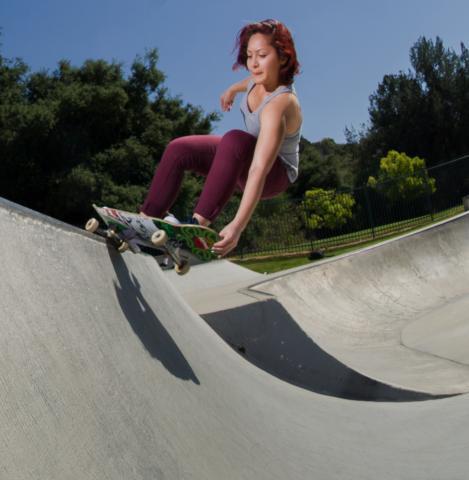 Skateboarder, Diamond Bar Skatepark