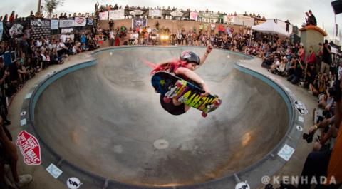 Exposure 2016, skateboarder Allysha Le