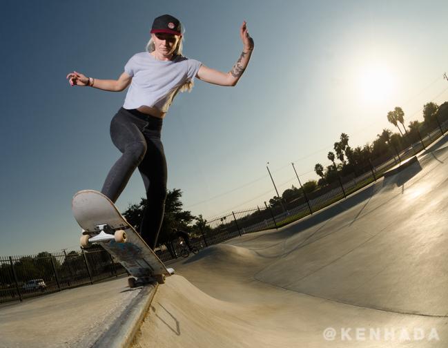 Ken Hada stefani nurding Gurus skateboard park