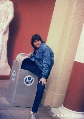 Ken Hada John Stamos Universal Studios 1982